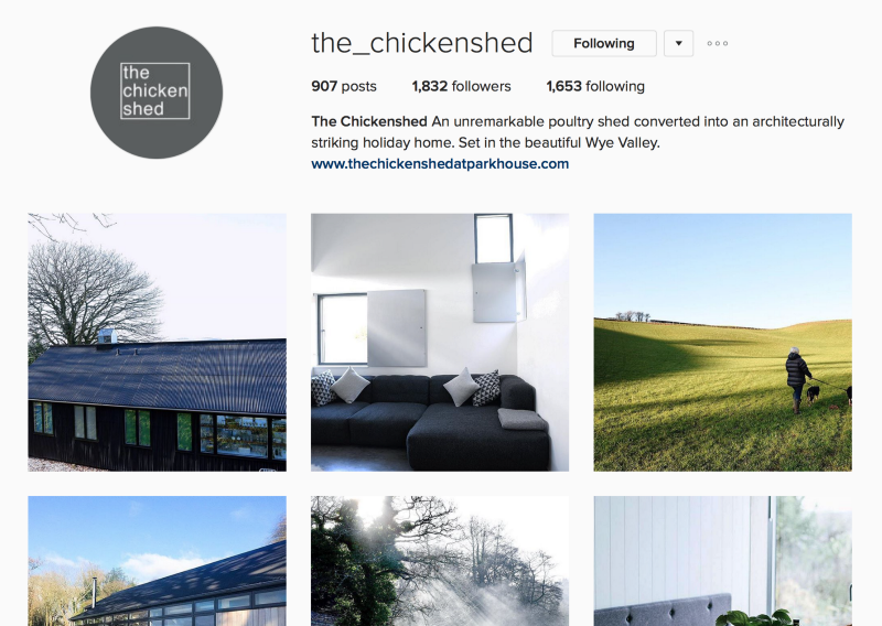The Chickenshed on instagram